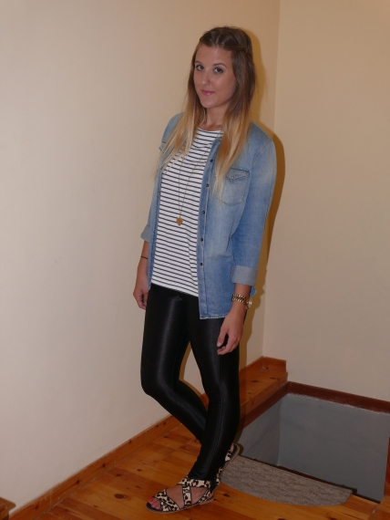 denim_topshop_shirt_stripe_discopants_american_apparel_gillian_lee_rose_gillianleerose_fashion_blog