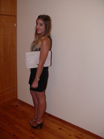 nasty_gal_black_statement_dress_gillian_lee_rose_cute_heels_topshop_clutch_bag