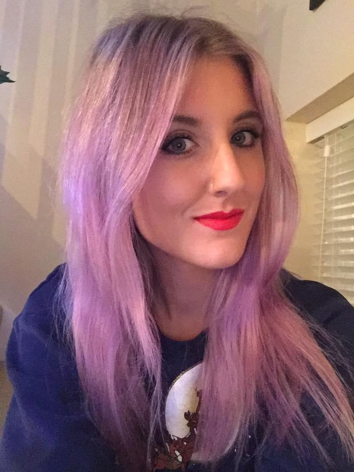 Purplelilac Hair How To Gillian Lee Rose