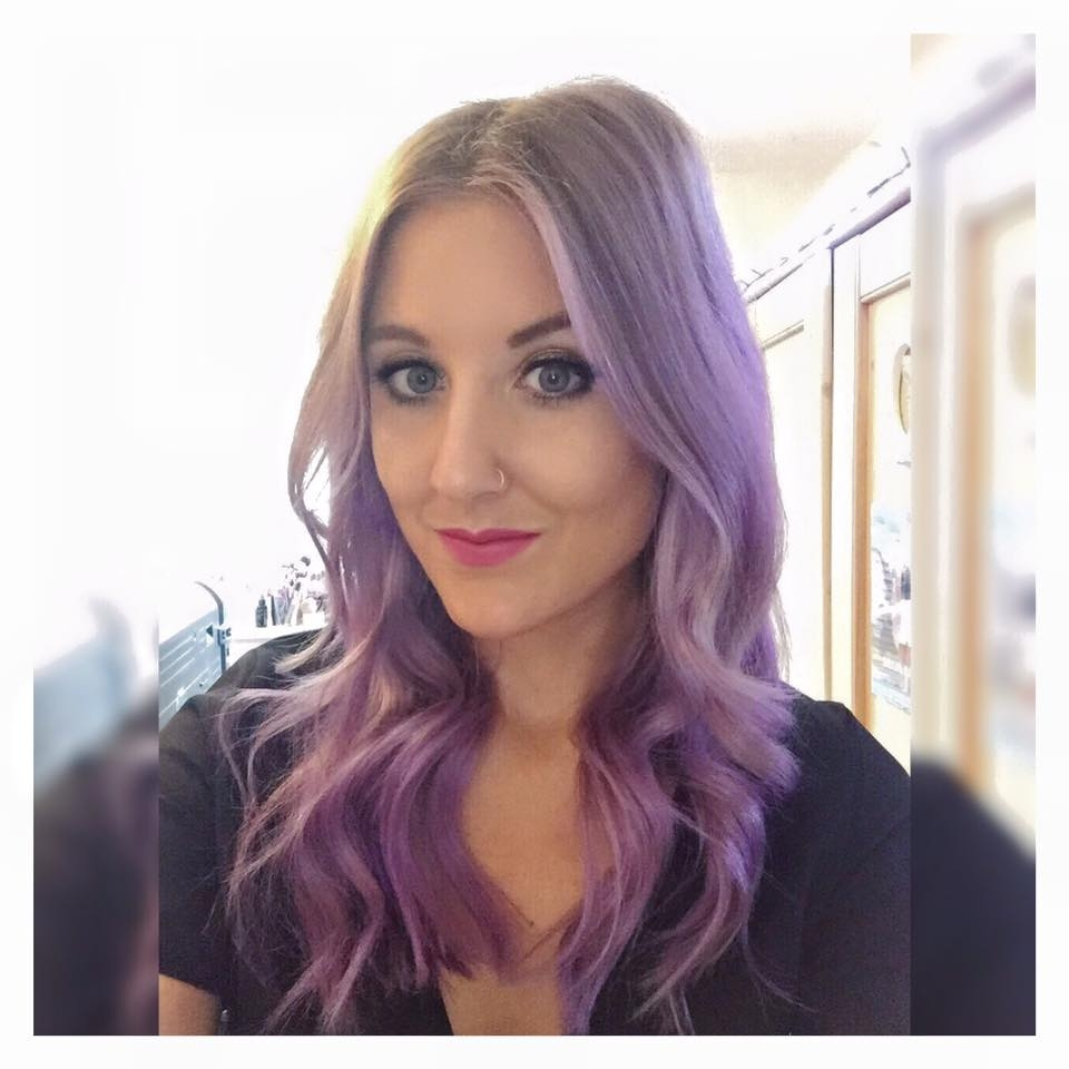 Purple Hair Dye Mixed With Conditioner Best Hair Color 2017