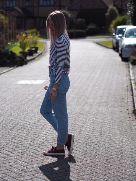 UK_fashion_blog_gillianleerose_ASOS_Topshop_superga_RayBan